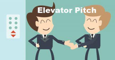 An Elevator Pitch – Inside an Elevator